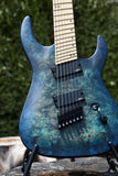 Legator N7FOD - Blue | Electric Guitar | Xaliman Guitars New Zealand 3