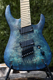Legator N7FOD - Blue | Electric Guitar | Xaliman Guitars New Zealand 4