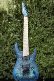 Legator N7FOD - Blue | Electric Guitar | Xaliman Guitars New Zealand 5