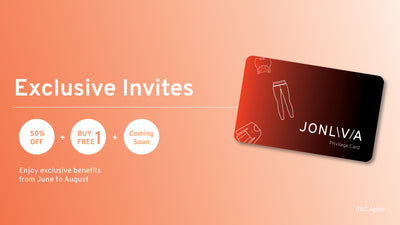 JONLIVIA's EXCLUSIVE INVITES IS HERE!
