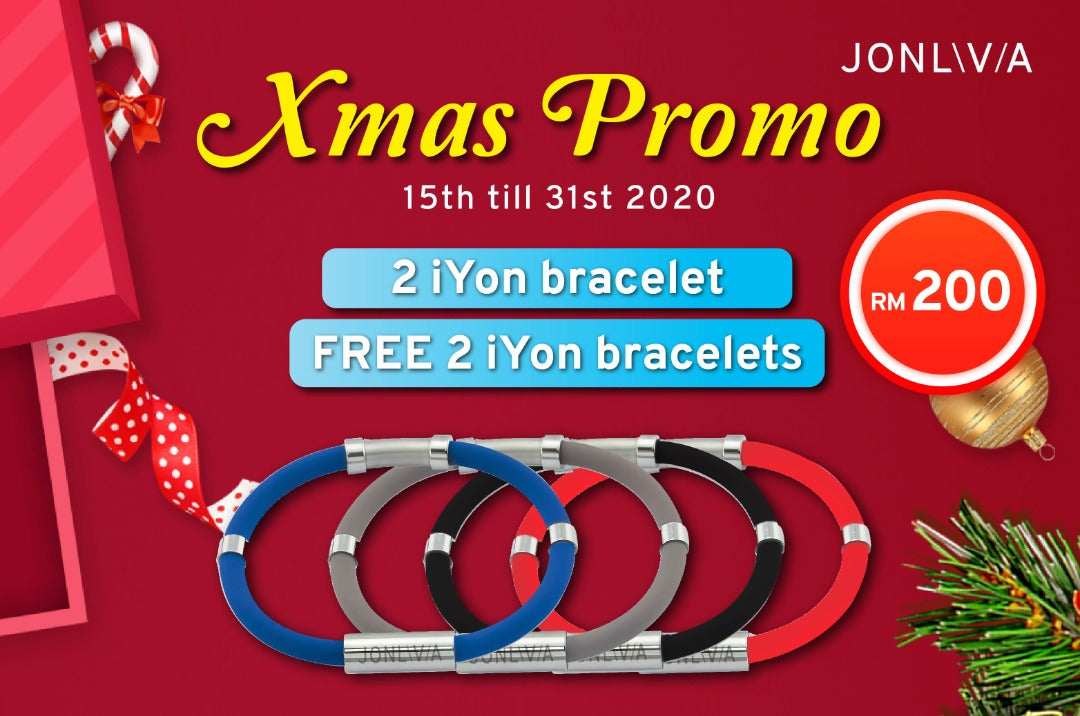 Xmas iYON Bracelet Twin Protection Pack