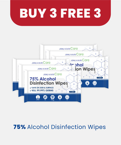 Jonlivia® Care 75% Alcohol-based Wipes