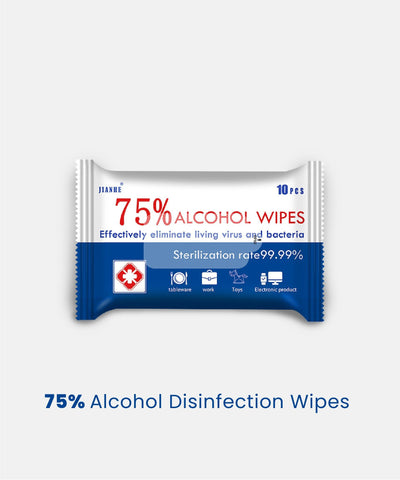 75% Alcohol-based Wipes collaboration of Jonlivia X Jianhe™ (promo)