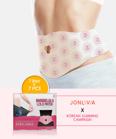 Twin Pack Jonlivia X BarbieLolo Lolo Patch - For Abdomen & Side