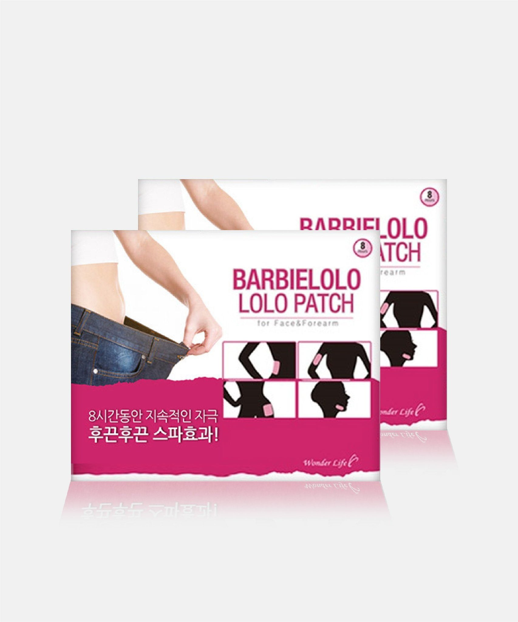 Twin Pack Jonlivia X BarbieLolo Lolo Patch - For Face and Forearm
