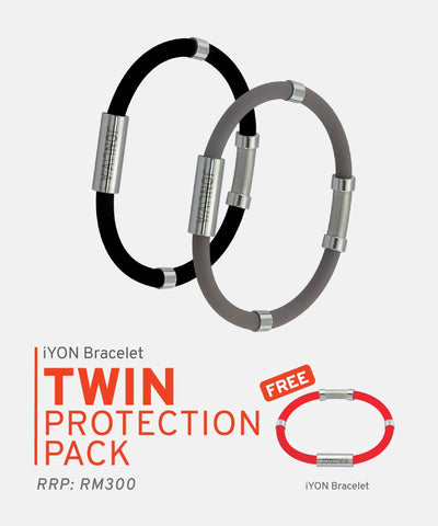 iYON Bracelet Twin Protection Pack