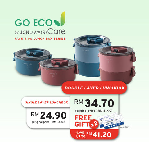 Jonlivia® Care GO ECO Pack & Go Lunch Box