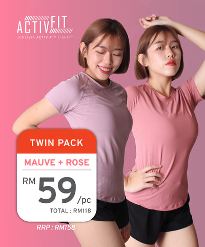 Twin Pack Activ-Fit T-Shirt