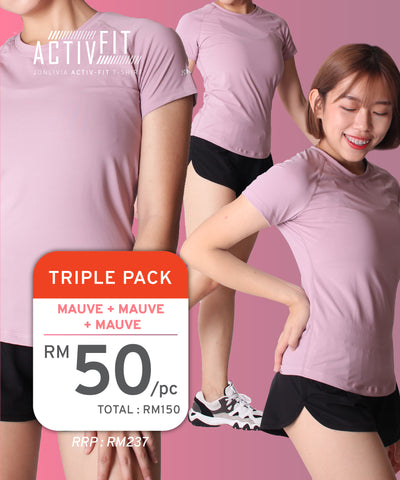 Triple Pack Activ-Fit T-Shirt