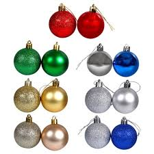 Christmas Ornaments 12 Pack