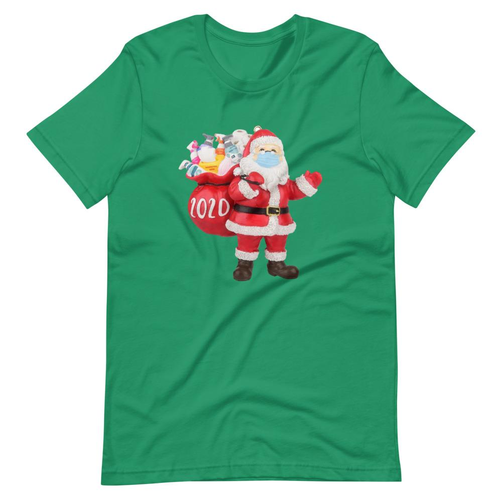 Santa Claus Mask 2020 Funny T-Shirt