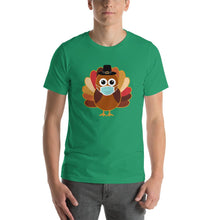Load image into Gallery viewer, Turkey Mask Funny Thanksgiving T-Shirt