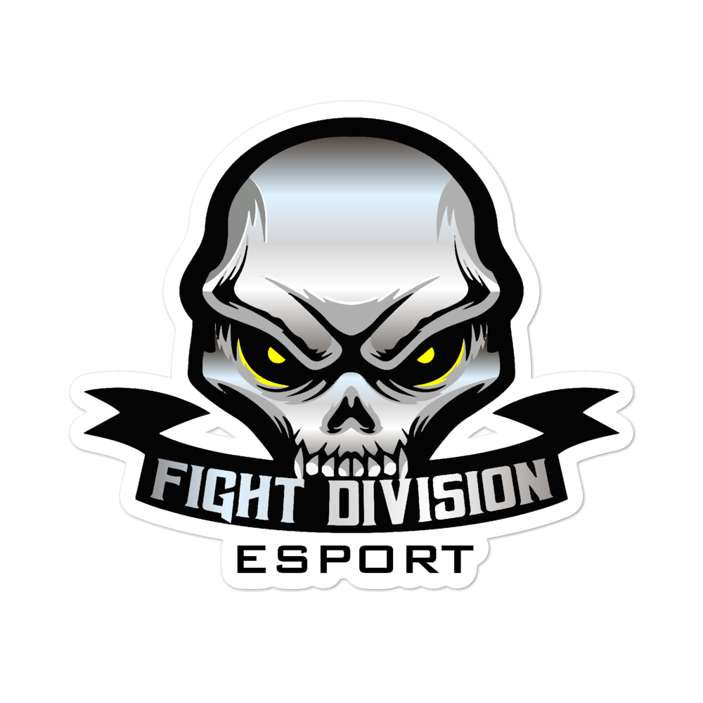 FightDivision Sticker - ShirtVenger