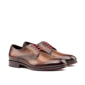 Derby - Custom Shoe with handmade patina