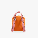 Small backpack sprinkles envelope - carrot orange + bubbly pink + syrup brown - Sticky Lemon