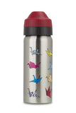 Ecococoon insulated stainless steel water bottle - 500ml Bottle  PAPER CRANE
