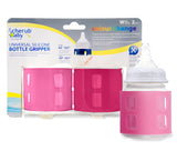 Cherub Baby Wideneck Universal Colour Change Bottle Gripper Twin Pack