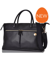 PacaPod Fortuna Nappy Changing Bag Black/Tan