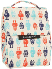 Keep Leaf Insulated Organic Lunch Bag - Robot