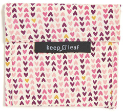 Keep Leaf Reusable Baggie - Large - Hearts