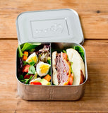LunchBots Deep Duo All Stainless ( with removable divider)