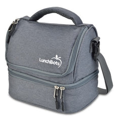 LunchBots Duplex Lunch Bag Grey