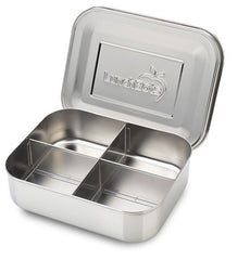 LunchBots Quad Classic Stainless Steel