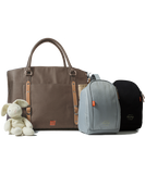 PacaPod Mirano Mocha Nappy Changing Bag