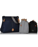 PacaPod Oban Navy Nappy Changing Bag