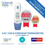 Cherub Baby 4 in1 Infrared Digital Ear And Forehead Thermometer FREE DELIVERY