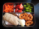 LunchBots Bento Cinco Stainless Steel
