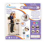 Dreambaby Magnetic Sure-Close Gate Silver