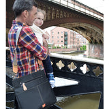 PacaPod Oban Black Nappy Changing Bag