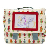 Robbie the robot Picture Satchel by Pink Lining Kids