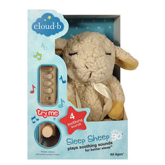 Cloud b Sleep Sheep On The Go Travel Sound Machine Four Soothing Sounds