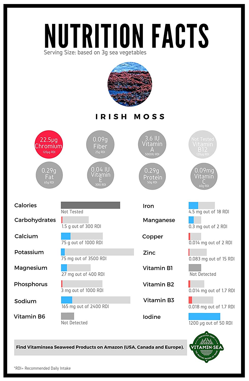 VitaminSea Irish Moss Flakes