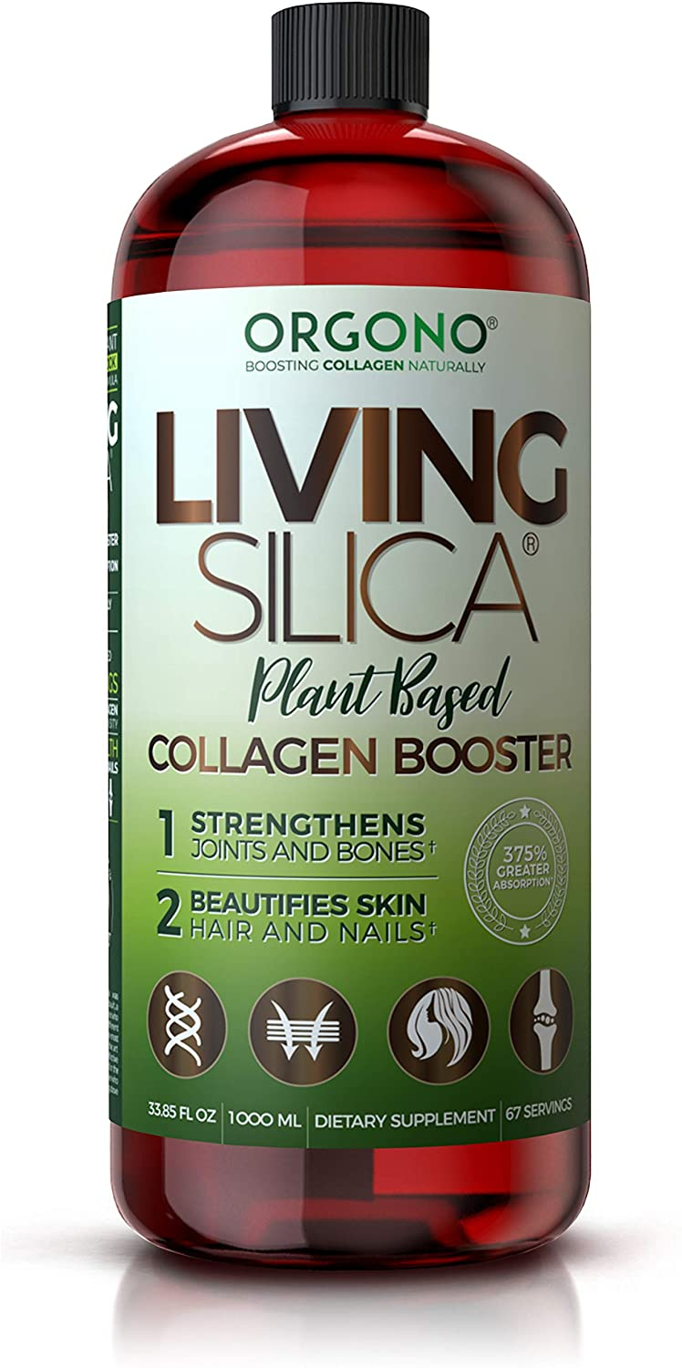 Orgono Living Silica Plant Based Collagen Booster