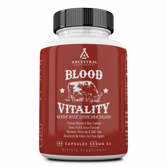 Ancestral Supplements Blood Vitality