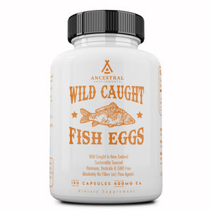 Ancestral Supplements Wild Caught Fish Eggs