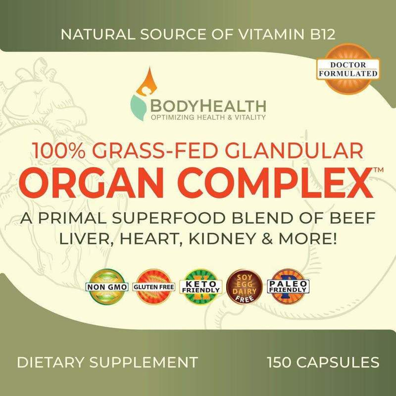 BodyHealth Glandular Organ Complex