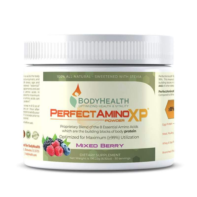 BodyHealth PerfectAminoXP - Mixed Berry 30 Servings