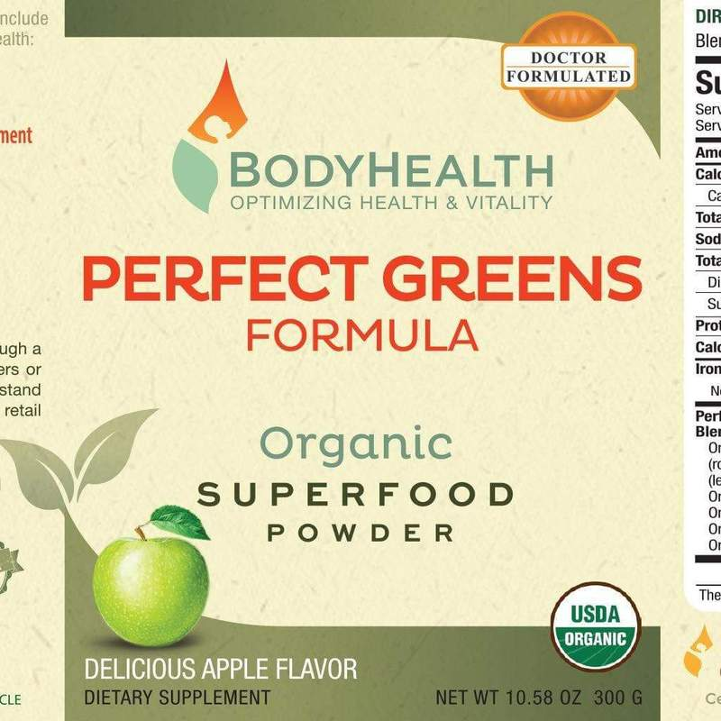 BodyHealth Perfect Greens