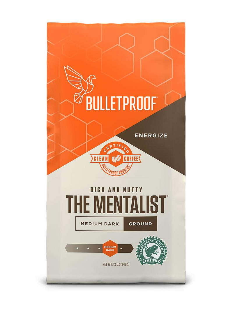 Bulletproof Coffee The Mentalist Medium Dark Roast Ground - 12 oz.