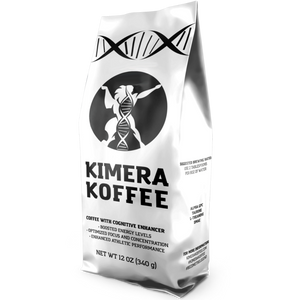 Kimera Koffee Original Blend Organic Ground 12 oz