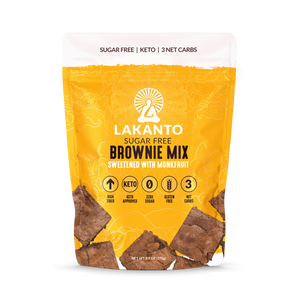 Lakanto Brownie Mix (Gluten-Free, Low-Carb)
