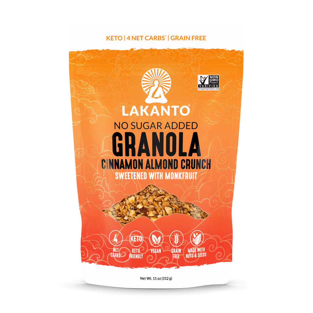 Lakanto Toasted Keto Granola, Cinnamon Almond Crunch