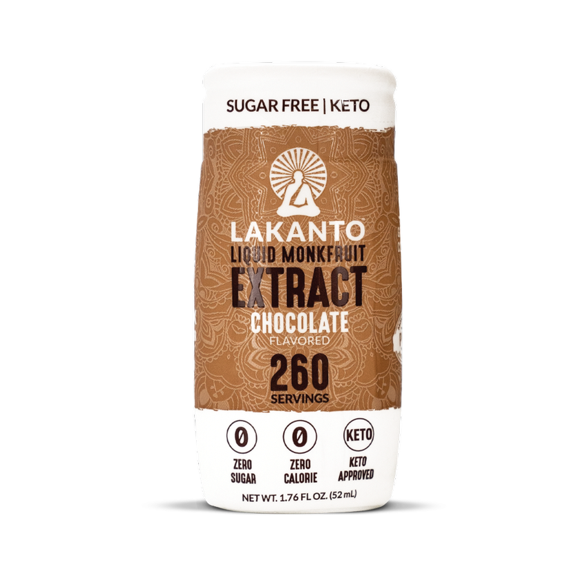 Lakanto Chocolate Liquid Monkfruit Extract