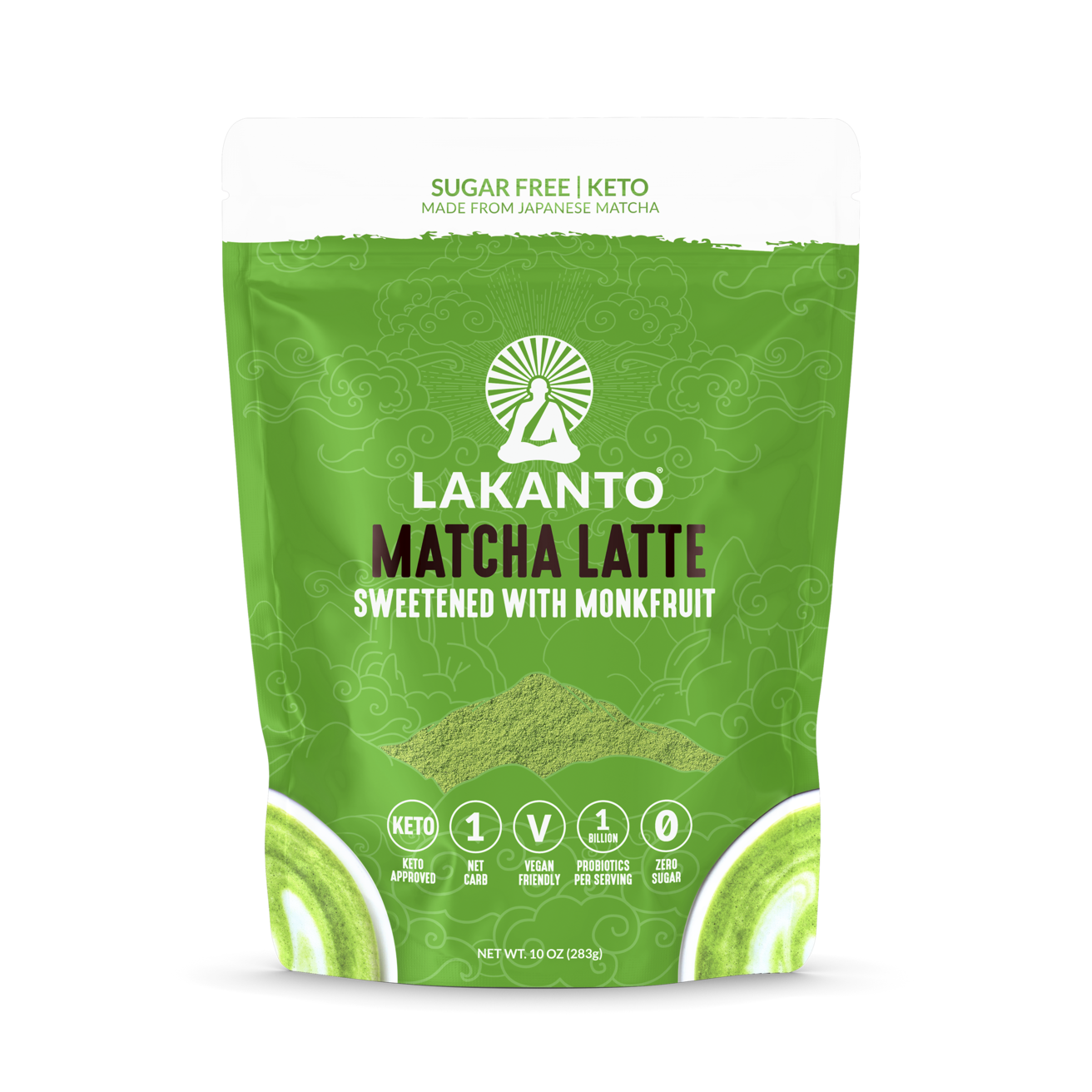 Lakanto Matcha Latte Drink Mix