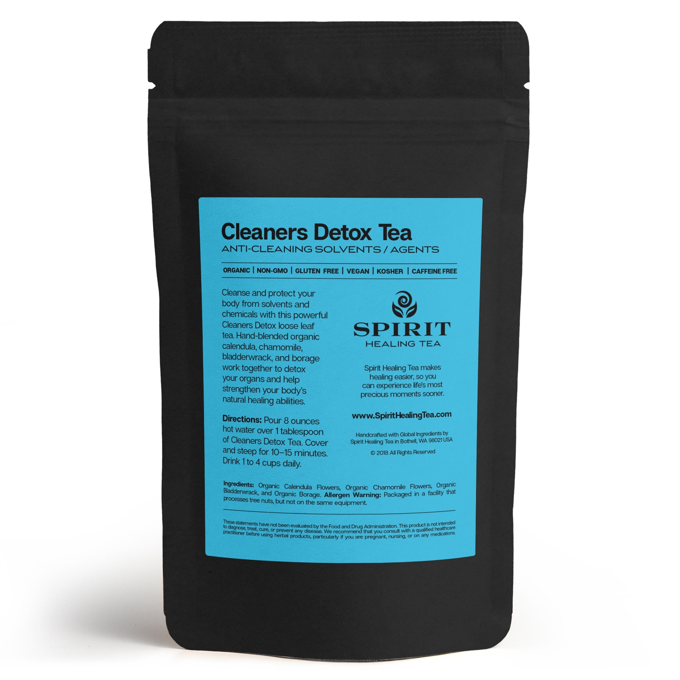 Spirit Healing Cleaners Detox Tea
