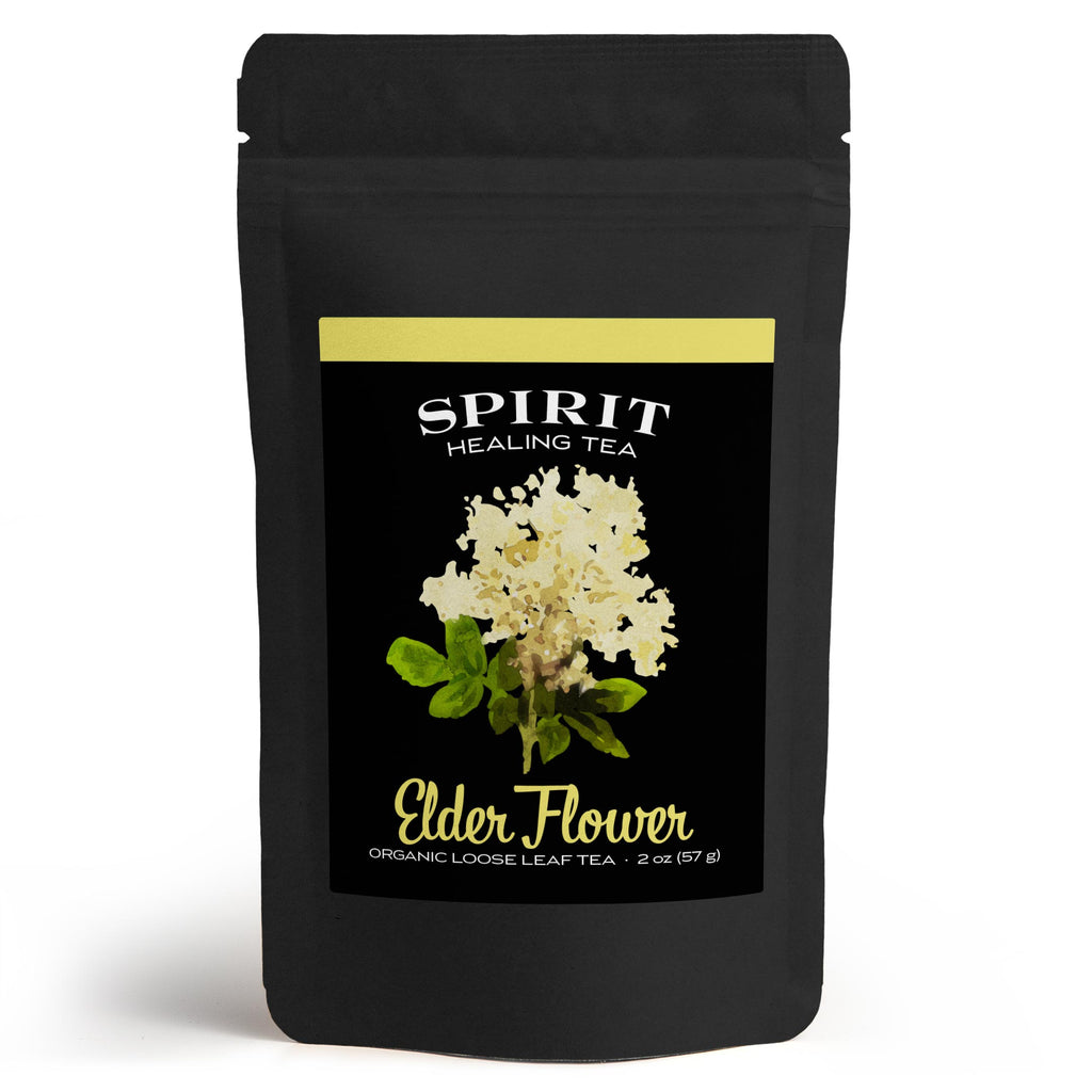 Spirit Healing Elderflower Tea